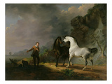 Gulliver Addressing the Houyhnhnms, 1769 Giclee Print by Sawrey Gilpin