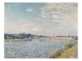 Landscape, 1888 Giclee Print by Alfred Sisley