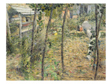 In the Garden, 1885 Giclee Print by Charles Angrand