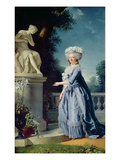 Portrait of Marie-Louise (1733-99) Victoire De France Giclee Print by Adelaide Labille-Guiard