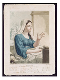 Nivose (December/January), Fourth Month of the Republican Calendar, Engraved by Tresca, C.1794 Giclee Print by Louis Lafitte