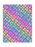 Dotted Check, 2011 Giclee Print by Louisa Knight