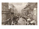 The Queen's Visit to Birmingham: the High Street, from 'The Illustrated London News' 2nd April 1887 Giclee Print by  English