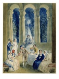 The Tenth Day of the Decameron, from Boccacio's 'Decameron' (W/C over Graphite on Paper) Giclee Print by Thomas Stothard