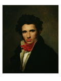 Self Portrait, c.1818 Giclee Print by Leon Cogniet