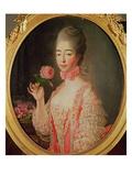 Marie-Josephine Louise De Savoie (1753-1810) Comtesse De Provence Giclee Print by Francois-Hubert Drouais
