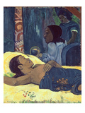 The Birth of Christ, 1896 (Detail) Giclee Print by Paul Gauguin