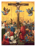 Crucifixion, C.1518 (Oil on Limewood Panel) Giclee Print by Albrecht Altdorfer