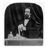 Charles Dickens (B/W Photo) Giclee Print by  English Photographer
