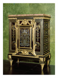 Boulle Cabinet, Gilt-Bronze Mounts, Late 17th Century with Later Alterations Giclee Print by  French