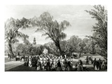 Botanical Gardens, Cape Town, Print Made by W. Simpson, C.1850S (Litho) Giclee Print by Thomas William Bowler