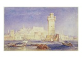 Rhodes, C.1823-24 (W/C and Bodycolour on Paper) Giclee Print by Joseph Mallord William Turner