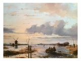 Late Winter in Holland Giclee Print by Nicholas Jan Roosenboom