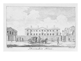 Devonshire House, Engraved by Benjamin Green, 1761 (Engraving) Giclee Print by Samuel Wale