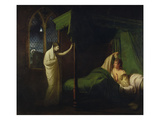 William and Margaret from the 'Reliques of Ancient English Poetry' by Thomas Percy Giclee Print by Joseph Wright Of Derby