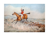 Fox Hunting, 1837 (W/C) Giclee Print by Henry Thomas Alken