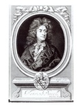 Portrait of Henry Purcell (1659-95), English Composer, Engraved by R. White, 1695 (Engraving) Giclee Print by Johann Closterman