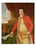 An Unknown Man, C.1764-69 (Oil on Canvas) Giclee Print by Tilly Kettle