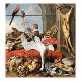 Interior of an Office, or Still Life with Game, Poultry and Fruit, c.1635 Giclee Print by Frans Snyders Or Snijders
