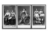 Wigan Pit Girls (B/W Photo) Giclee Print by  English Photographer
