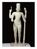 Vishnu, 1st - 9th Century (Sandstone) Giclee Print by  Cambodian