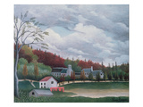The Bievre at Gentilly, c.1895 Giclee Print by Henri J.F. Rousseau