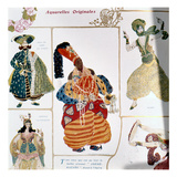 The Great Eunuch, Costume Design for Diaghilev's Production of the Ballet 'scheherazade', 1910 Giclee Print by Leon Bakst