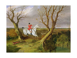 The Suffolk Hunt - Gone Away (Oil on Canvas) Giclee Print by John Frederick Herring Snr