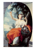 The Muse Urania, 1646-47 (Oil on Panel) Reproduction procédé giclée par Eustache Le Sueur