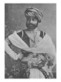 Thakore Sahib Waghji Ii Rawaji (Engraving) Giclee Print by  English Photographer
