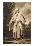 Omai, Engraved by John Jacobe, 1777 (Mezzotint) Giclee Print by Sir Joshua Reynolds