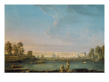 Place Louis Xv, C.1779 (Oil on Canvas) Giclee Print by Alexandre Jean Noel