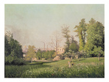 In the Park at Issy-Les-Moulineaux, 1876 Giclee Print by Prosper Galerne
