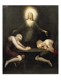 The Appearance of Christ at Emmaus, 1792 Giclee Print by Henry Fuseli