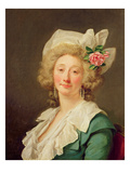 Portrait of a Lady, 1782 (Oil on Canvas) Giclee Print by Jean Francois Colson