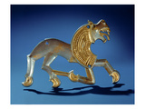 Lion, 6th- 7th Century BC (Silver Gilt) Giclee Print by  Scythian