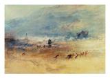 Yarmouth Sands, C.1840 (W/C on Paper) Reproduction procédé giclée par Joseph Mallord William Turner