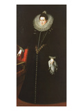 Catalina De La Cerda, Duchess of Lerma, 1602 (Oil on Canvas) Giclee Print by Juan Pantoja De La Cruz