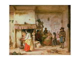 Coffee Time Giclee Print by Eduard Gustav Seydel