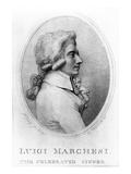 Luigi Marchesi, Engraved by Luigi Schiavonetti, 1790 (Engraving) Giclee Print by Richard Cosway