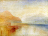 J. M. W. Turner - Inverary Pier, Loch Fyne, Morning, c.1840-50 - Giclee Baskı