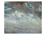 Cloud Study, 1821 (Oil on Paper on Board) Giclee Print by John Constable