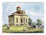 Observatory, Richmond Gardens, Plate 14 Giclee Print by George Ernest Papendiek