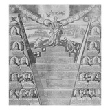 Apotheosis of Peter the Great (Engraving) Giclee Print by  Russian