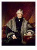 William Lamb, 2nd Viscount Melbourne, 1844 Giclee Print by John Partridge
