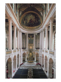 Interior View of the Chapel, 1699-1710 (Photo) Giclee Print by Robert de Cotte