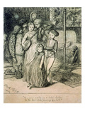 To Caper Nimbly in a Lady's Chamber to the Lascivious Pleasing of a Lute, 1850 Giclee Print by Dante Charles Gabriel Rossetti