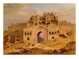 Inside the Main Entrance of the Purana Qila, Delhi, 1823 Giclee Print by Robert Smith