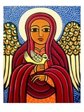 Guardian Angel Premium Giclee Print by Laura James