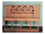 Dresser, C.1900 (Oak) Giclee Print by Willam Richard Lethaby